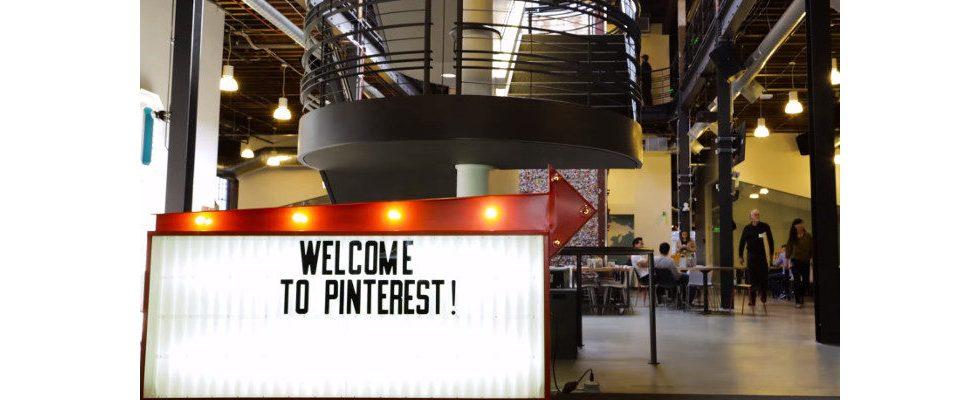 Pinterest reicht Papiere für Börsengang ein und legt Zahlen offen