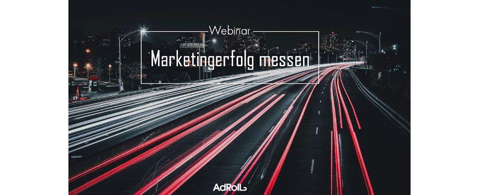 Webinar: Marketingerfolge messen und verstehen lernen