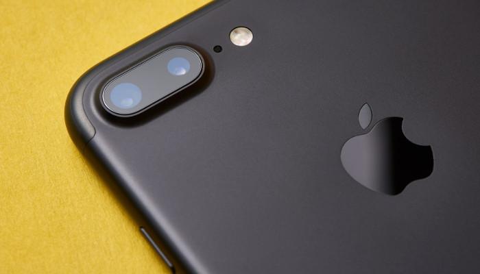 Apple Smartphone schwarz