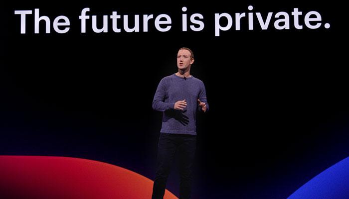 Mark Zuckerberg auf der F8