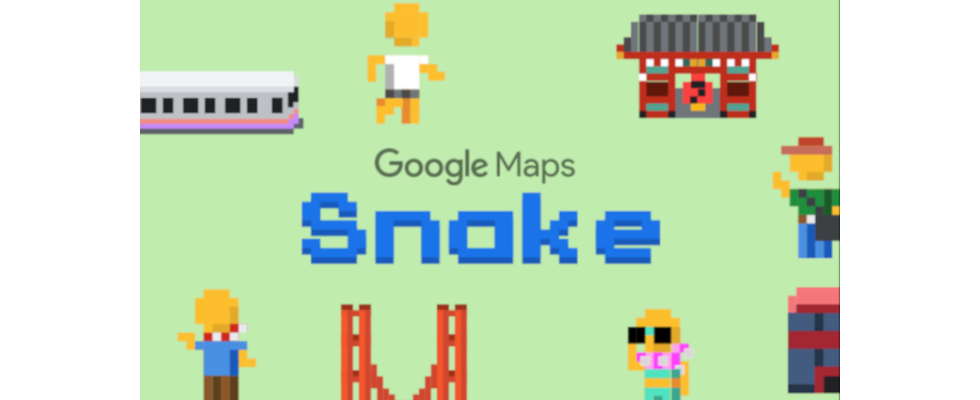 Google bringt Snake als Easter Egg zum 1. April heraus