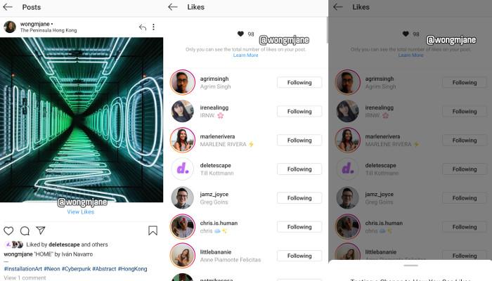 Instagram Keine Likes Mehr