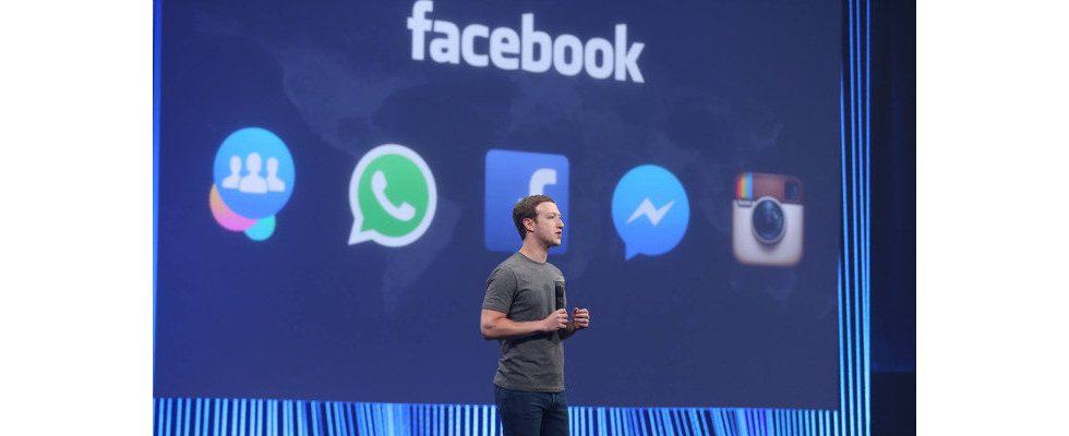 Facebook verbietet Werbung, die Heilung für Coronavirus verspricht