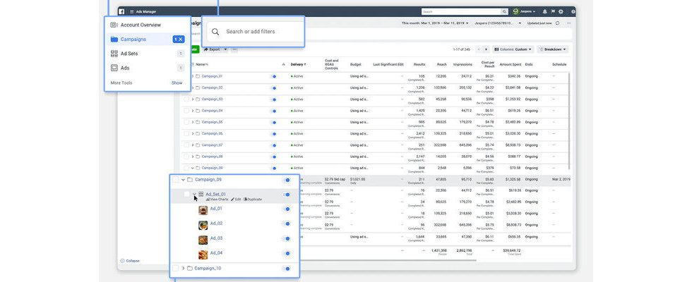Facebook bringt neuen Ads Manager und verspricht überarbeiteten Business Manager