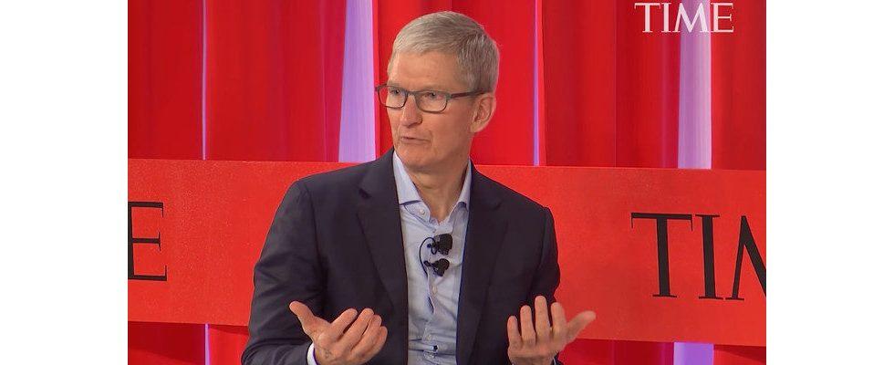 Tim Cook sieht keinen anderen Weg: Technologie muss reguliert werden