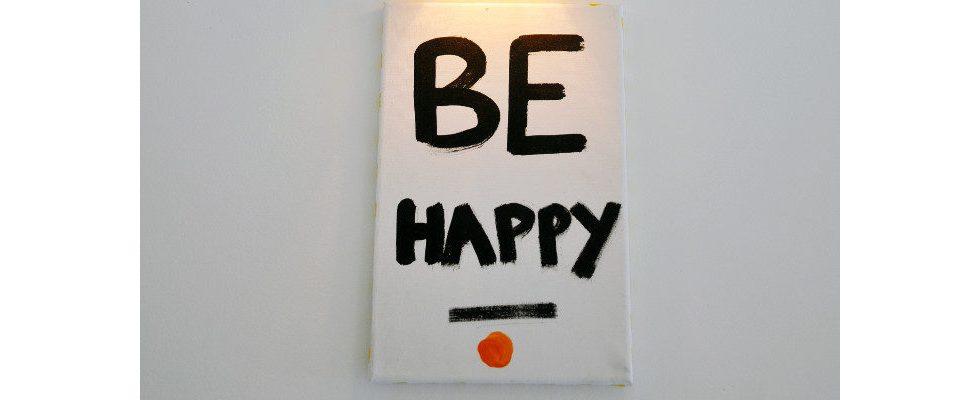 Geheimformel für Glück: Wieso wir nicht nach Erfolg in Leben und Beruf streben sollten