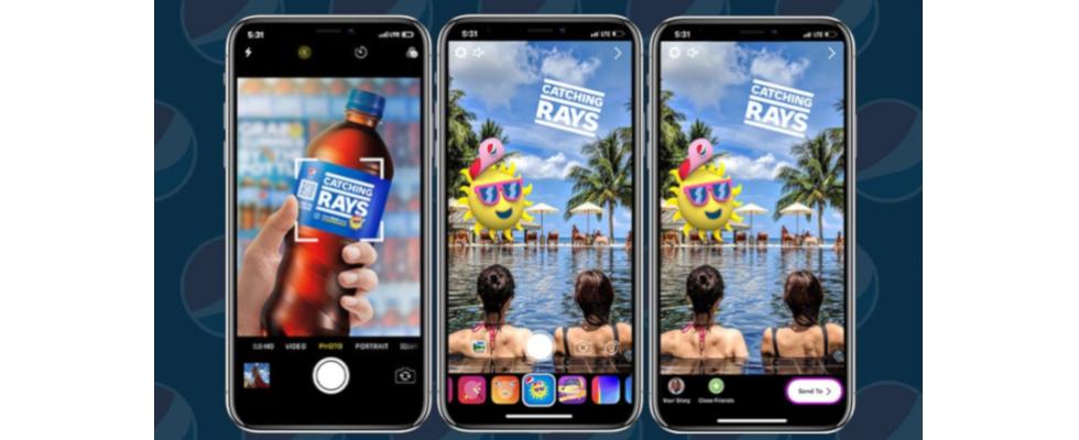 #Summergram: Pepsi läutet mit AR-Kampagne auf Instagram den Sommer ein