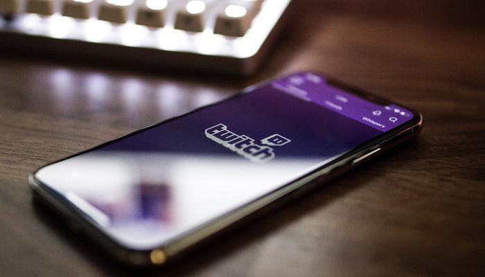 Twitch App aus Smartphone