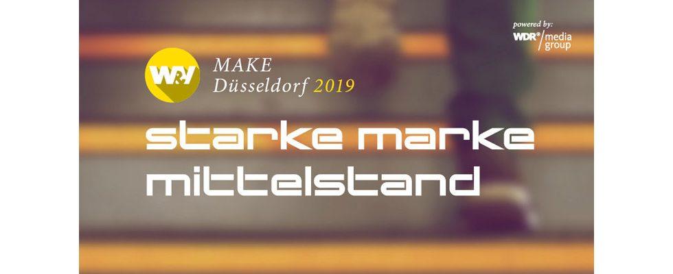 W&V MAKE Düsseldorf 2019: Marketing für den Mittelstand