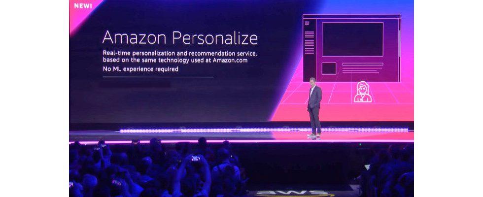 AWS: Amazon Personalize ist nun für alle Kunden verfügbar