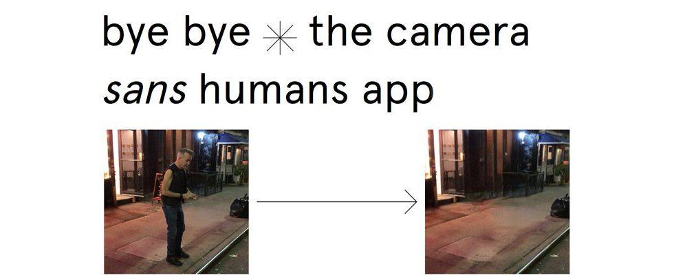 Neue Kamera-App entfernt Menschen automatisch aus Fotos