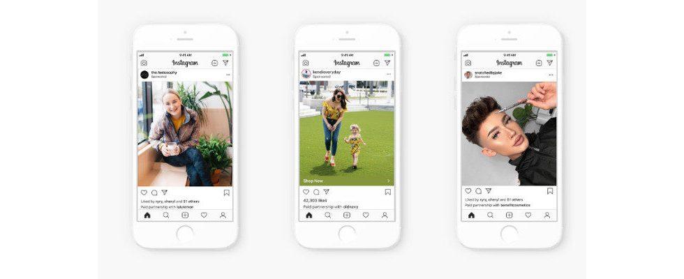Instagram führt Branded Content Ads für Stories und Feed ein