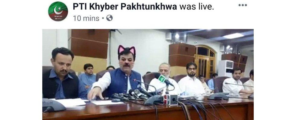 Katzenfilter macht Politik: Pressekonferenz in Pakistans Provinz als Social Media Event