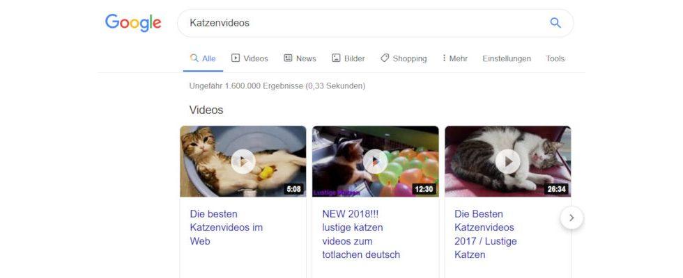 Frisches Design bei Google: Icons tauchen in der Suchleiste auf