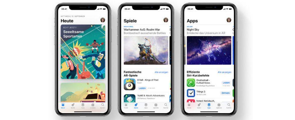 Apple reagiert: Eigene Apps werden im App Store Ranking nicht bevorzugt