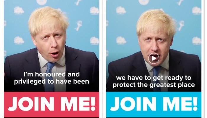 Hunderte Boris Johnson-Ads bei Facebook aufgetaucht – A/B Testing für politische Werbung