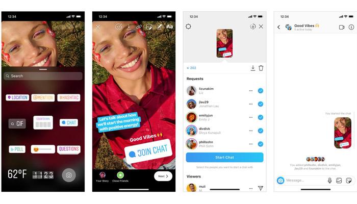 Instagram Chat Sticker: Für mehr Konversationen im Privaten