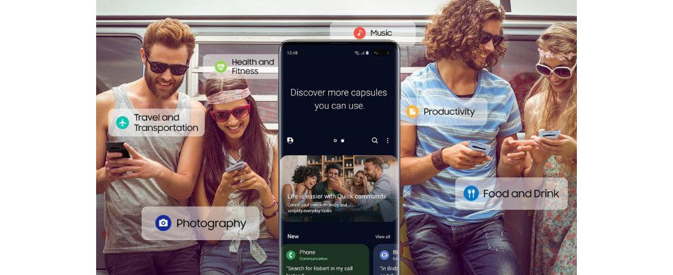 Samsung launcht personalisierten App Store für Assistant Bixby