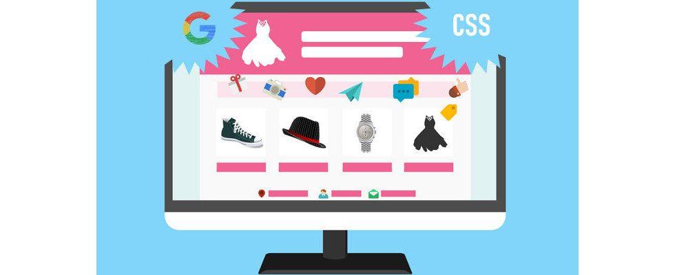 Google Shopping via CSS: Gekommen um zu bleiben