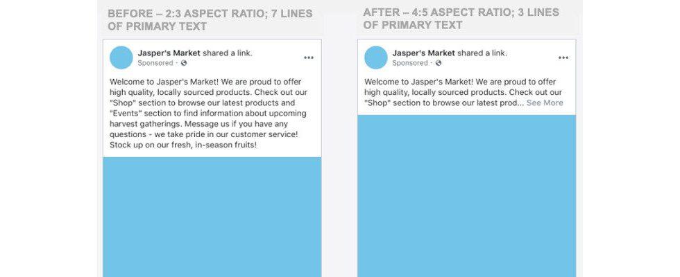Erhebliche Änderungen: Facebook Ads und Posts ab August mobil anders formatiert
