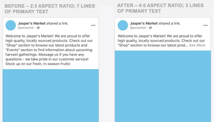 Erhebliche Änderungen: Facebook Ads und Posts ab August mobil anders formatiert | OnlineMarketing.de
