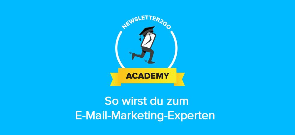 E-Mail Marketing: Von 0 auf Experte mit der Newsletter2Go Academy
