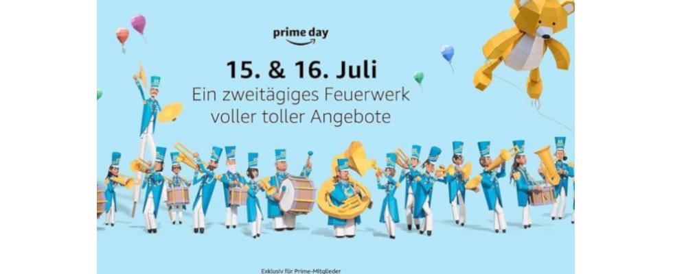 Schnäppchenjagd für Mitglieder: Amazon Prime Day will neue Rekorde schreiben