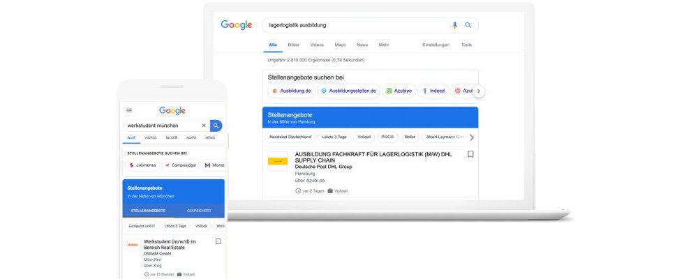Beschwerde bei der EU: Konkurrenten wehren sich gegen Googles Jobsuche