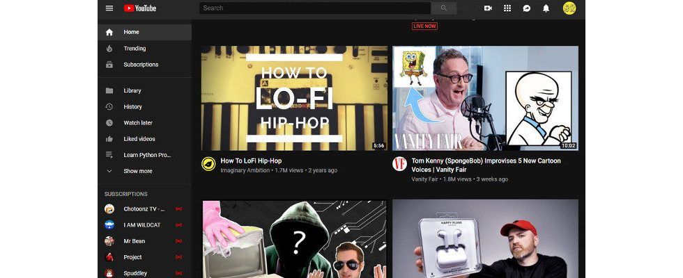 YouTube testet größere Thumbnails – und erntet Kritik