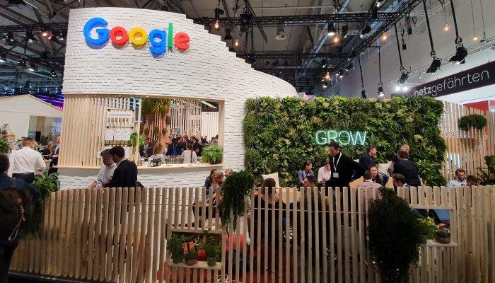 Google Walled Garden DMEXCO2019 Foto: Ralf Scharnhorst