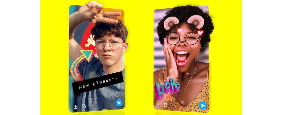 Snapchat bringt 3D Snaps und Effekte – und eine Bibliothek für politische Ads