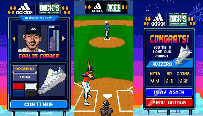 Adidas Baseballs Next Level Spielegrafiken