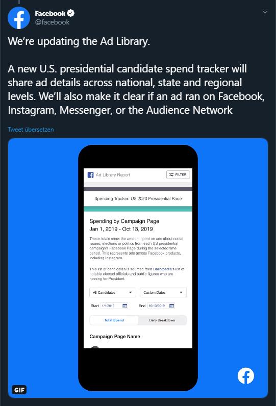 Facebook gegen Fake News: Transparenz-Offensive vor den US-Wahlen 2020 | OnlineMarketing.de