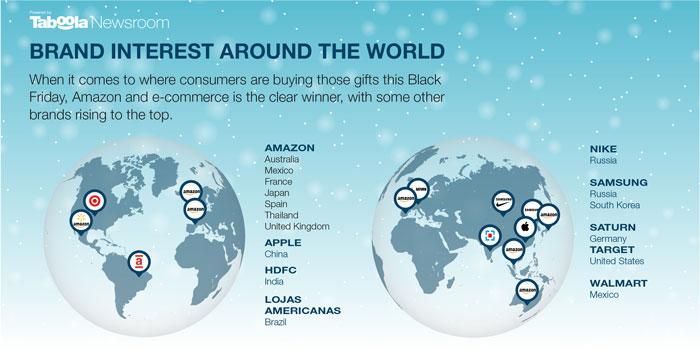 Diese Marke werden weltweit zum Black Friday am meisten gesucht