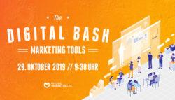 The Digital Bash – Marketing Tools – Live Web-Konferenz