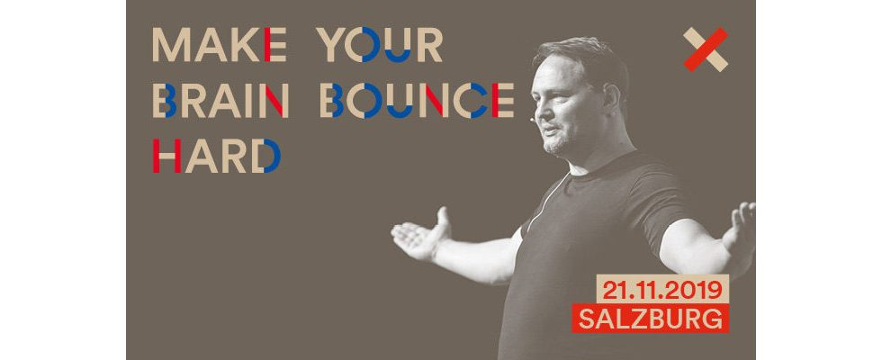 Make Your Brain Bounce Hard– auf der OMX in Salzburg