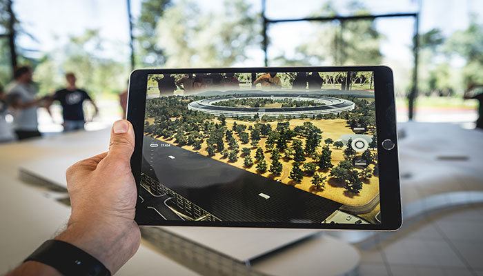 Augmented Reality- mit der Tablet-Kamera