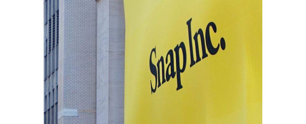 Snapchat im Aufwind trotz leichtem Fall der Aktien