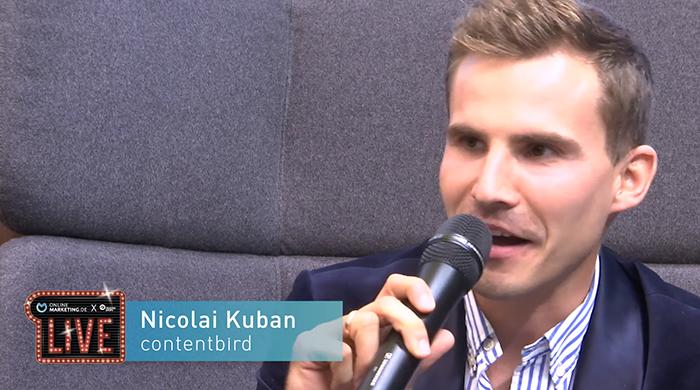 Vertrauen aufbauen durch performanten Content – Nicolai Kuban von contentbird