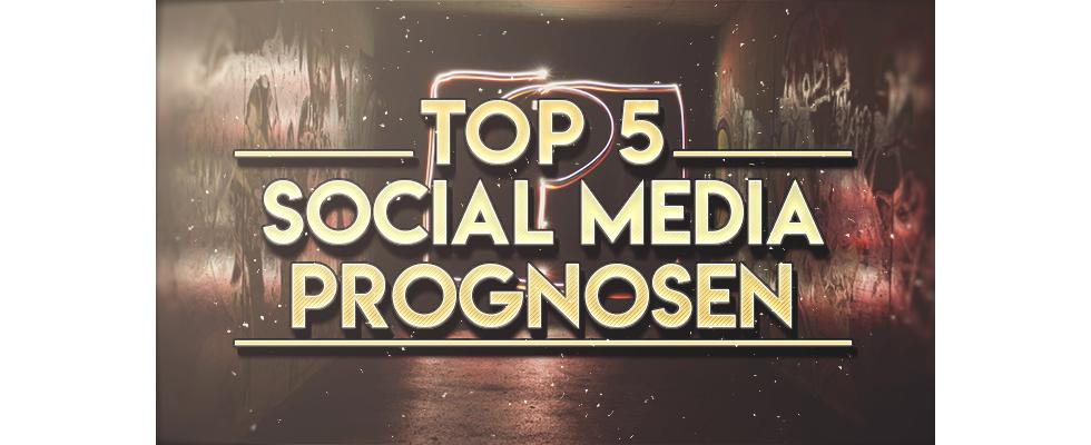 Top 5 Social Media-Prognosen 2020: Was erwartet uns im nächsten Jahr?