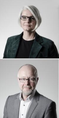 Michaela Koch und Alexander Karst