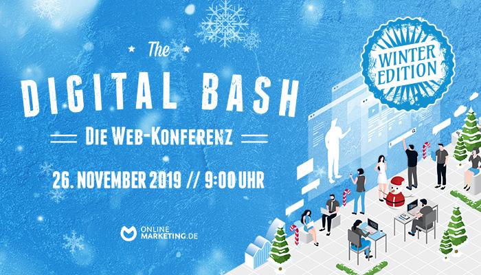 Generation Z und die Trends der Zukunft: The Digital Bash - Winter Edition | OnlineMarketing.de