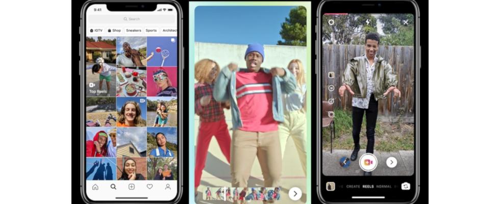 """Here we go again: Instagrams """"Reels"""" kopiert TikTok"""