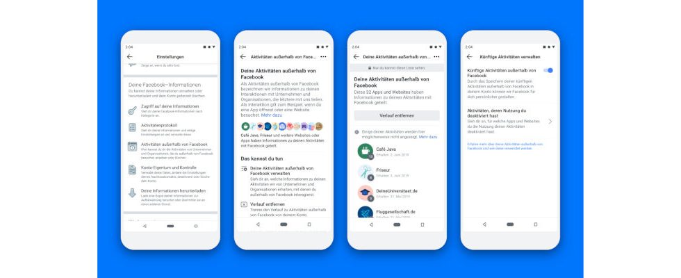 Mehr Kontrolle: Nutzer können Daten zu Aktivitäten außerhalb von Facebook löschen