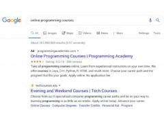 Googles Search Redesign für Desktop