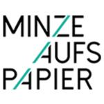 MINZE AUFS PAPIER