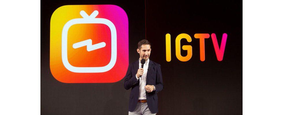 Statt nur in Stories: Live Streams direkt in IGTV teilen
