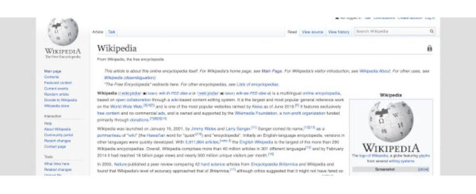 Kurz erwähnt: Heute vor 19 Jahren wurde Wikipedia gegründet