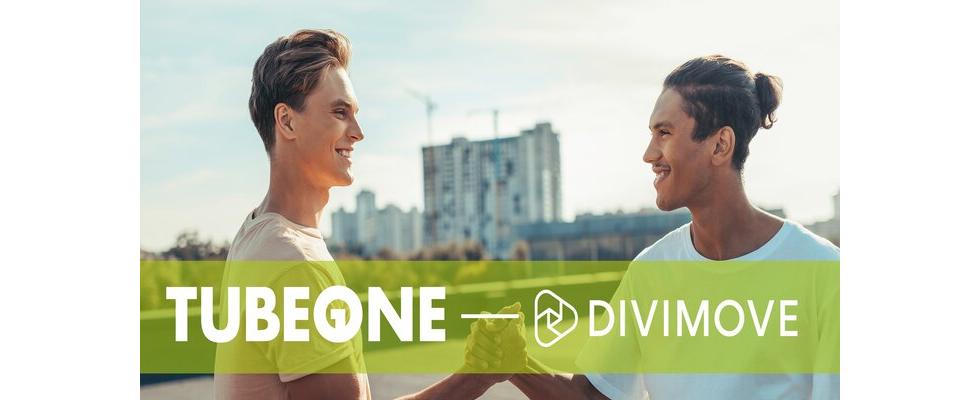 Divimove und TUBE ONE Networks schließen sich zusammen