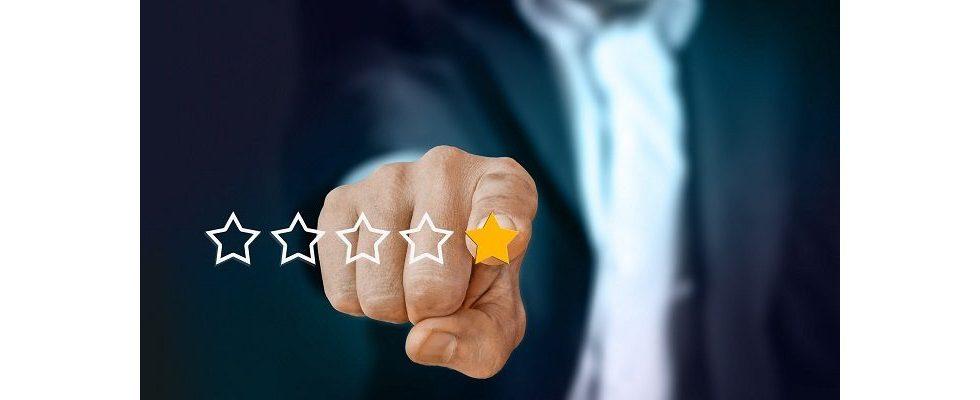 Wie sehr schaden 1-Sterne-Bewertungen bei Google?